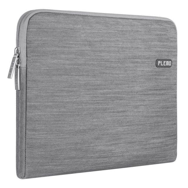 Plemo 13-13.3 Inch Laptop Sleeve Case Denim Fabric Bag for MacBook Air / 13.3 /