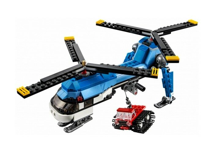 LEGO 31049 - Creator 3 in 1 - Model  Airport - Twin Spin Helicopter - NO BOX