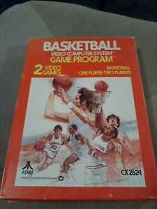 Basketball-for-Atari-2600-COMPLETE-IN-BOX-FREE-SHIPPING