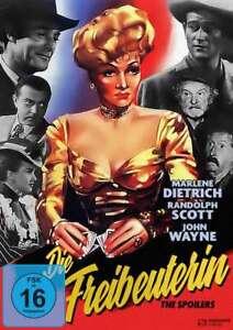 La freibeuterin [DVD/Nuovo/Scatola Originale] Marlene Dietrich, John Wayne, Randolph Scott,
