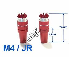 1Set M4 Thumb Stick Upgrade for JR Transmitter, Red US TH016-03001A