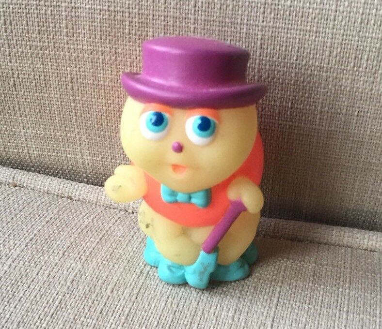 Gloworm Toy Glo Pop Bug 1986 Hasbro Vintage Soft Plastic Semi Hard Hollow