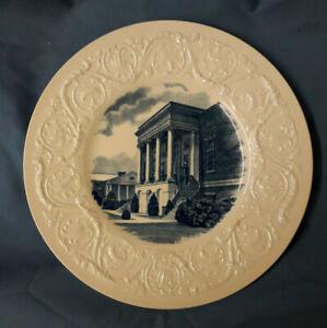 Wedgwood-Wesleyan-College-Blue-Plate-9-1-4-034-Candler-Memorial-Library-1936