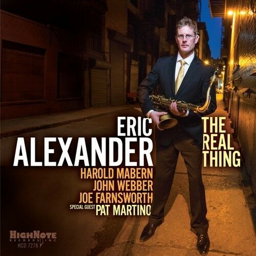 Eric Alexander - Real Thing [New CD]