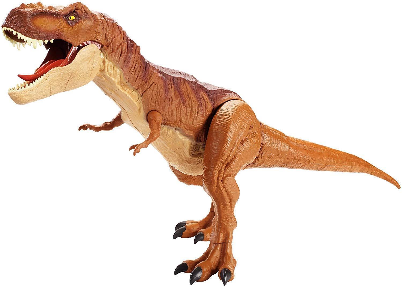 Jurassic welt super riesige tyrannosaurus rex abbildung t - rex - open - spielzeug - dino