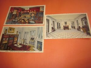 3-Vintage-Unused-Postcards-Washington-DC-Themed-3