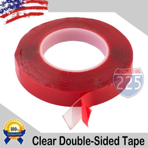 """Tape Adhesive 30 Feet transparent 10 Yards of 3//4/"""" Inch Double-Sided Clear"""