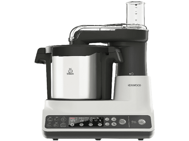 Robot de cocina - Kenwood KCook Multi CCL401WH, 6 programas