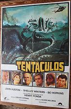 Used - Cartel de Cine  TENTACULOS  Vintage Movie Film Poster