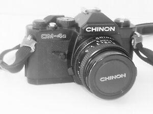 Vintage-CHINON-CM-4s-1-1-9-with-50mm-Lens-SLR-35mm-Film-Camera