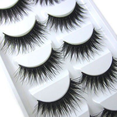 NEW TS028 Natural long Thick Christmas eye lashes Party false Eyelashes makeup