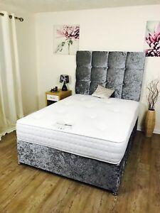 3ft-4ft-4ft6-5ft-Divan-bed-set-Silver-Black-cream