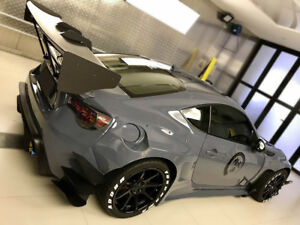 Toyota Ft 86 >> Details About For Toyota Brz Ft86 Gt86 Frs Ver3 Rb Style Frp Fiber Glass Gt Wing Spoiler