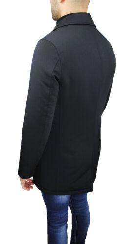 Avec Noir Homme Fit Sartoriale Long Slim Élégant Veste Gilet qz6p0xOOw