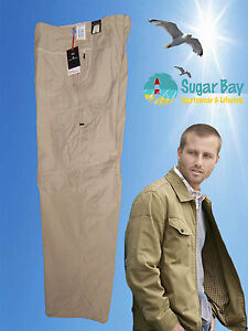 """New MARKS and SPENCER Chinos TROUSERS Pants Stormwear Stain Repellent 42/"""""""