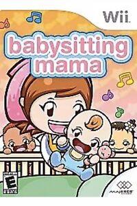 Babysitting Mama Nintendo Wii Kids Game Girls/boys U Baby Sitting