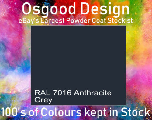 RAL7016 Matt Grey Powder Coat  Paint 1KG