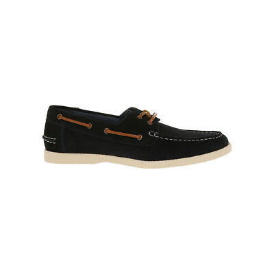 NEW Kenji Oregon Suede Boat Shoe Navy
