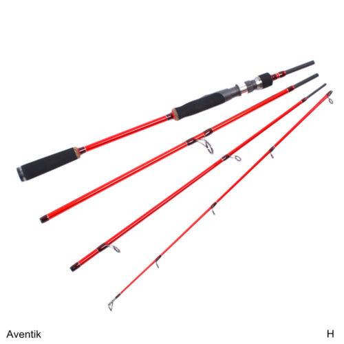 Aventik Travelling Spinning rod 6/'6/'/'//7/' 8-12Ib 0.7-1.8ozHigh Module Carbon 4SEC
