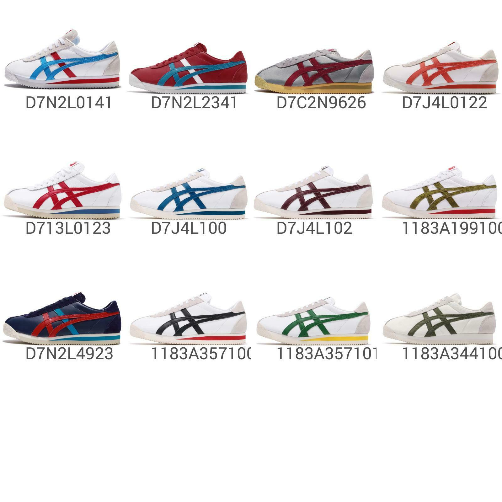 Asics Onitsuka Tiger Corsair Classic Men femmes Vintage Running chaussures Pick 1