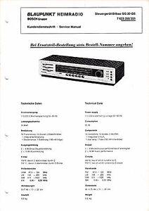MANUAL-DE-Manual-de-servicio-para-Blaupunkt-BILBAO-SG-20-QS-7-623-350-351