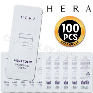 HERA-Aquabolic-Hydro-Gel-Cream-1ml-x-100pcs-100ml-Sample-Waterin-Gel-2017-New