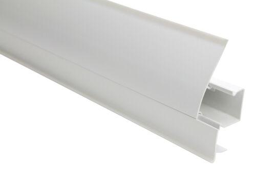 101A Câble Canal 50 Mètres PVC Plinthes Moderne Pieds Solides Base 23x65mm