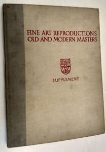 Fine Art Reproductions Old And Modern Masters