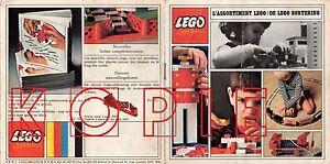 Katalog Aus Den 60ern Anschauen Lego® 3232 Prospekt Belgien