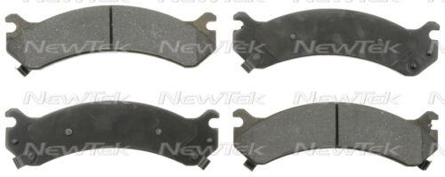 SCD784H FRONT Ceramic Brake Pads Fits 01-07 Chevrolet Silverado 3500W//Hardwa