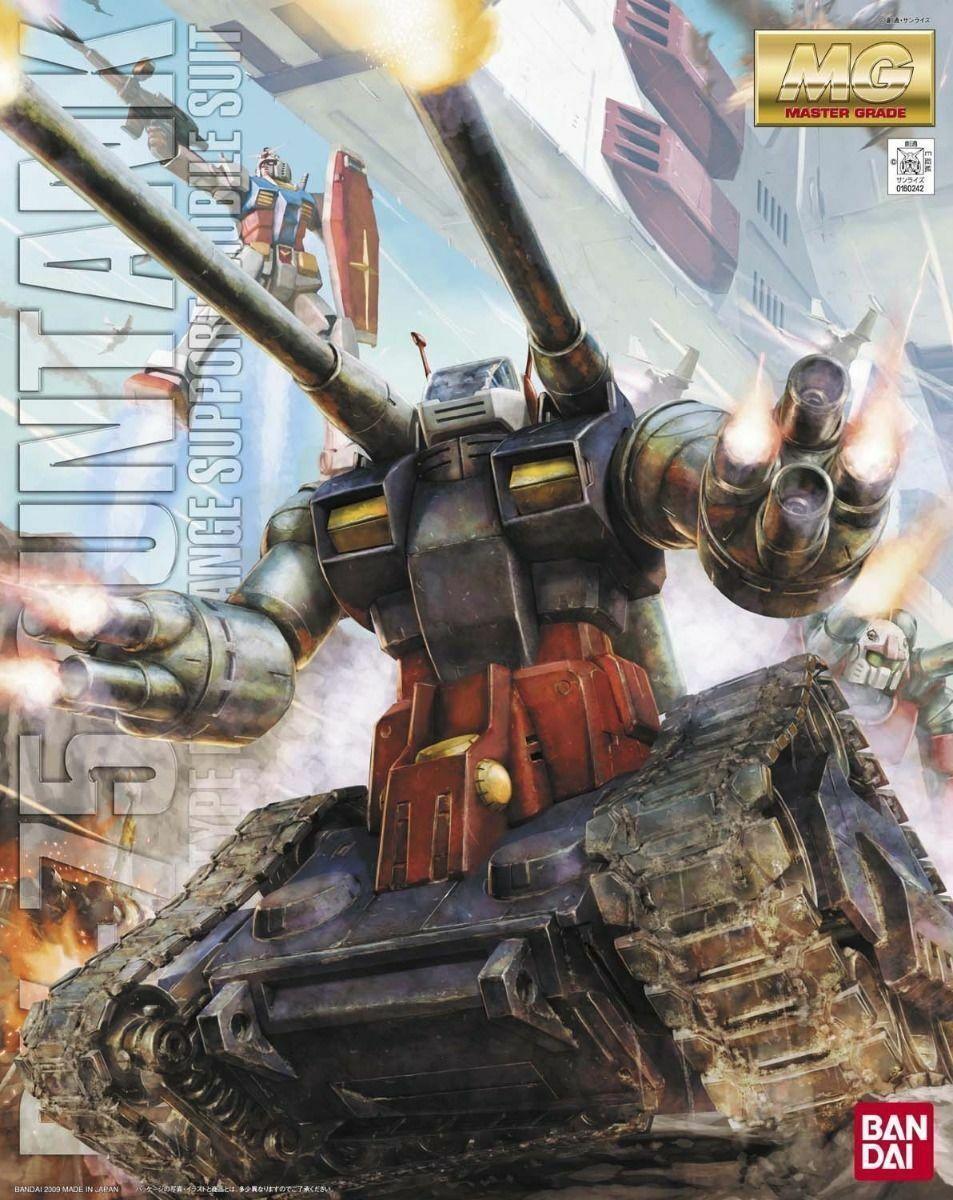 Bandai MG 1 100 Rx-75 Guntank Maqueta de Plástico en Kit Gundam De