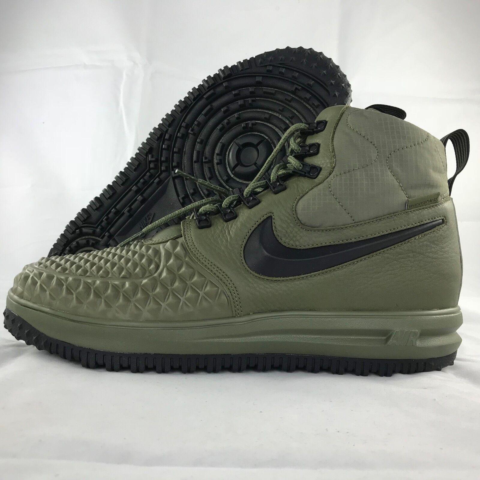 Nike LF1 Duckboot '17 Lunar Force Grey 1 Olive Green Black Grey Force 916682-202 Men's 10.5 0063c1