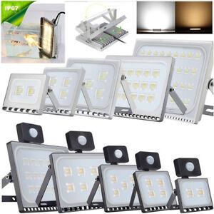 LED-Fluter-Flutlicht-Strahler-10W-20W-50W-100W-500W-Aussen-Scheinwerfer-UltraDuenn