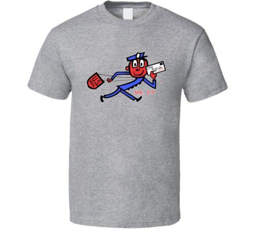 Mr Zip Usps Usa Postal Service Mascot T Shirt
