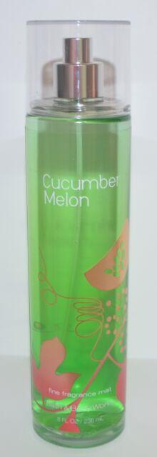 Neuf Bain & Corps Works Concombre Melon Fin Parfum Brume Pulvérisateur Parfum