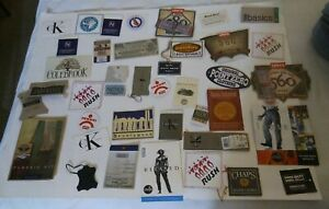 Vintage-Lot-Of-72-mixed-Clothing-Tags-Levis-CK-Chaps-Nordstrom-IOU-MORE