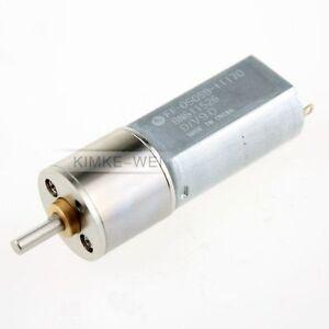 16mm Modellbau Getriebemotor 12V 100 U//min Gleichstrommotor neu