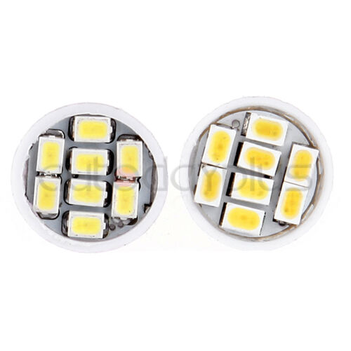 20PCS 8SMD 194 168 T10 Super White Interior LED Bulbs For License Plate Lights
