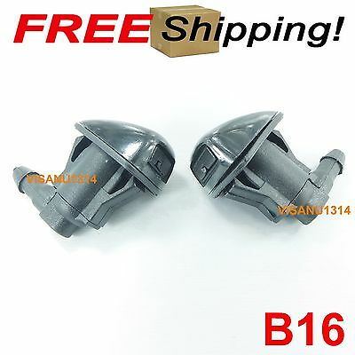 05-12 Toyota Hilux 7th gen Vigo Fortuner Tacoma 1X Windshield washer nozzle jet