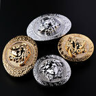 New Belt Buckle Medusa Head Classic Design Crystal Studded Buckle For Men Women