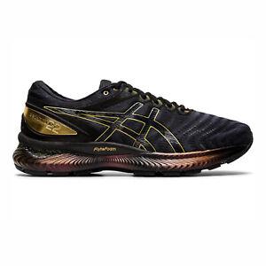 Asics-GEL-Nimbus-22-Platinum-1011A779-001-Men-Running-Shoes-Black-Pure-Gold