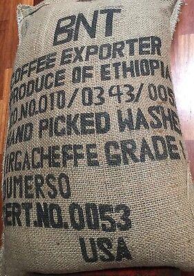 3 - 20 lbs Ethiopia Yirgacheffe Dumerso Gr 1 Washed Process Green Coffee Beans