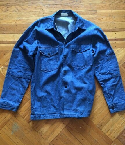 Vintage Jason Superior Denim Shirt Jacket . Large.