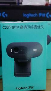 Logitech-C270i-720P-Webcam-IPTV-HD-PC-Mini-Camera-Built-in-Microphone-USB2-0