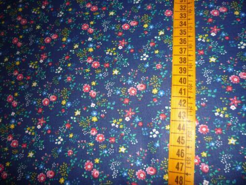 Pequeña toalla patrón 100/% algodón 50cm METERWARE 150cm br Mille Fleur