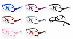Slim-Reading-Glasses-form-0-00-to-4-00-Unisex-Trendy-Designer-Spring-Geek