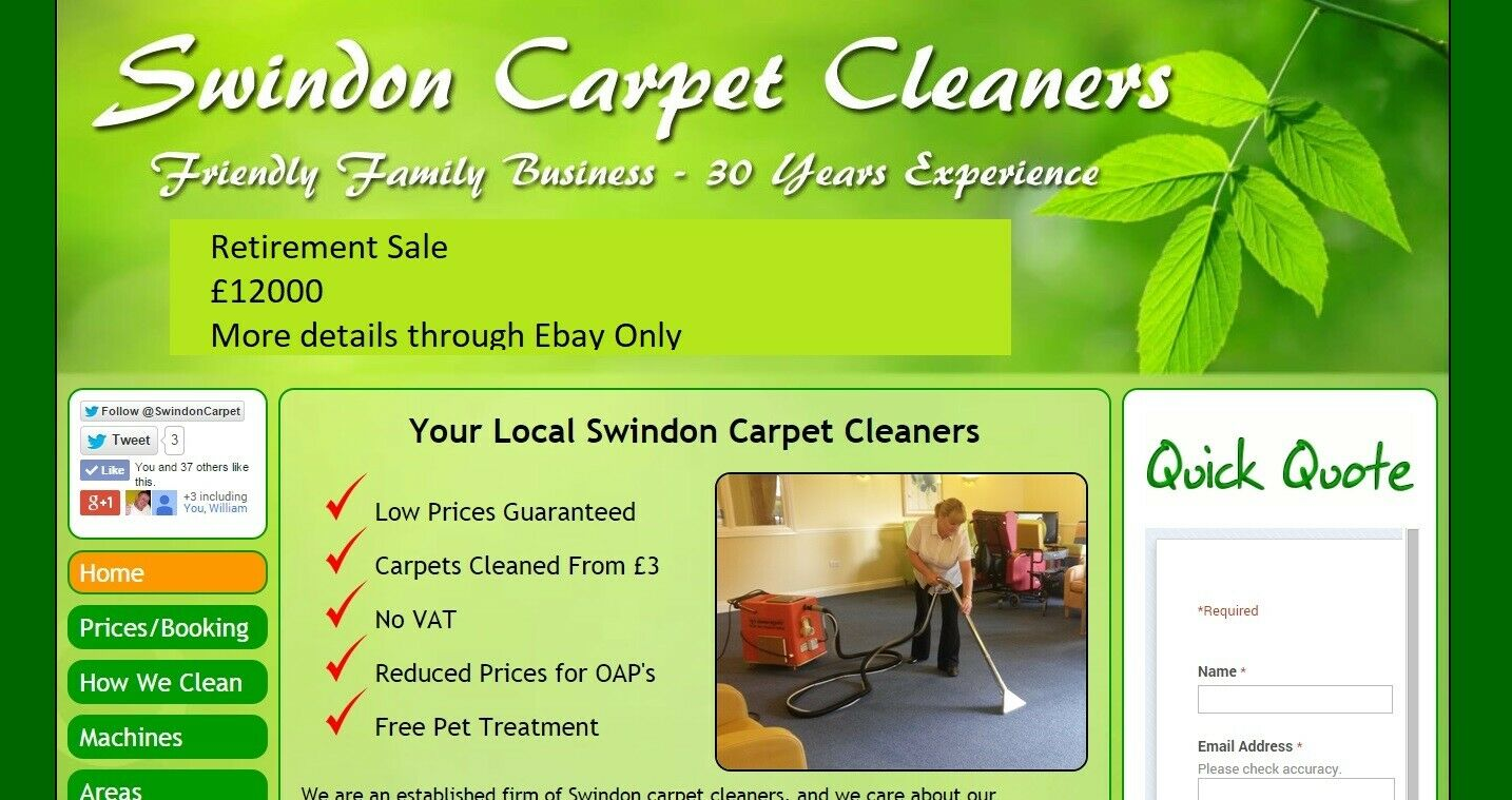 Carpet Cleaning Business ( Retiring after 30 years) Incredible opportunity