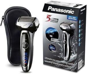 Panasonic ES-LV65-S803 Rasoio Elettrico da Barba Wet&Dry Senza Fili Ricaricabile