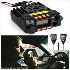Dual Band 25W Pocket 136-174/400-480MHz Mini Mobile Radio Transceiver