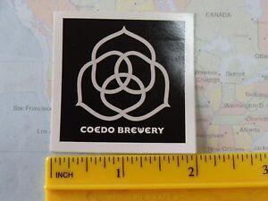 CALIFORNIA Brewery BEER Collectible STICKER ~*~ DEVICE Brewing Co ~ Sacramento